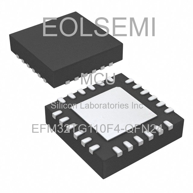EFM32TG110F4-QFN24 - Silicon Laboratories Inc