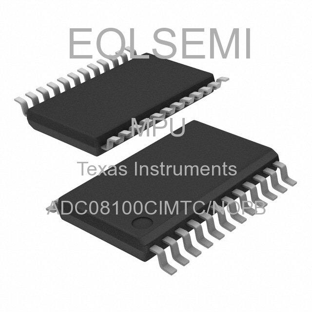 ADC08100CIMTC/NOPB - Texas Instruments