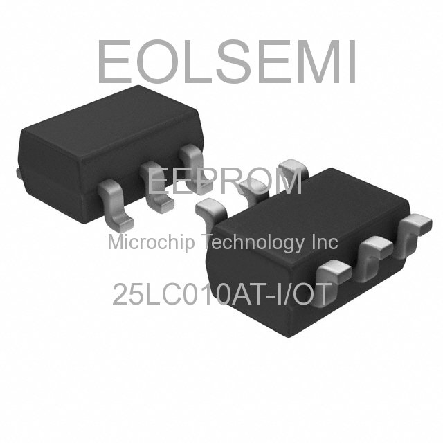 25LC010AT-I/OT - Microchip Technology Inc - EEPROM