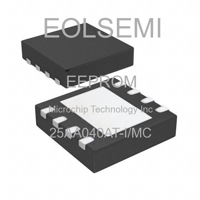 25AA040AT-I/MC - Microchip Technology Inc -
