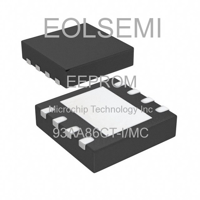 93AA86CT-I/MC - Microchip Technology Inc - EEPROM