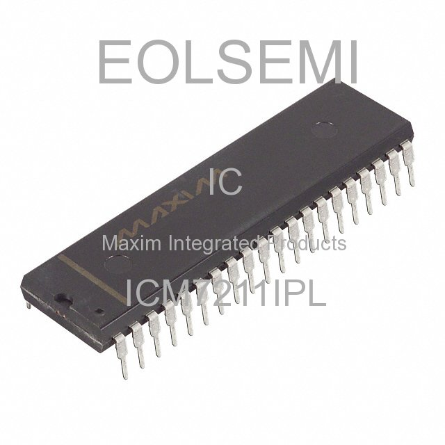 ICM7211IPL - Maxim Integrated Products