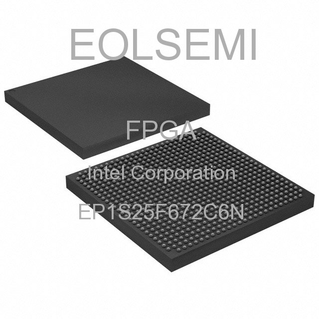EP1S25F672C6N - Intel Corporation