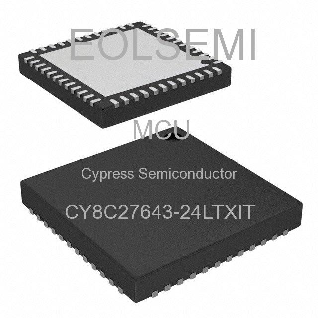 CY8C27643-24LTXIT - Cypress Semiconductor