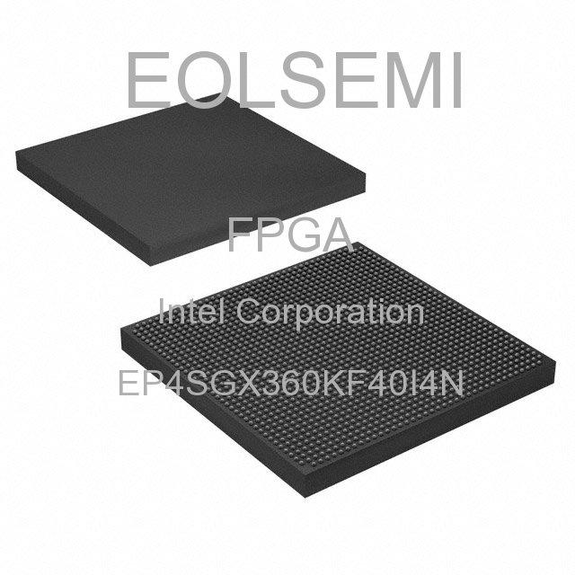 EP4SGX360KF40I4N - Intel Corporation