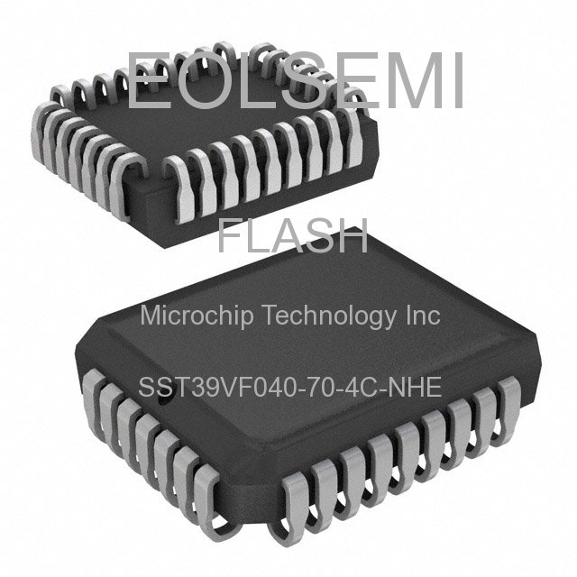 SST39VF040-70-4C-NHE - Microchip Technology Inc