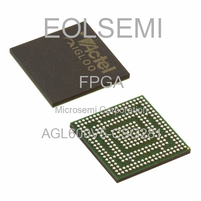 AGL600V5-CSG281 - Microsemi Corporation