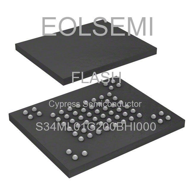S34ML01G200BHI000 - Cypress Semiconductor