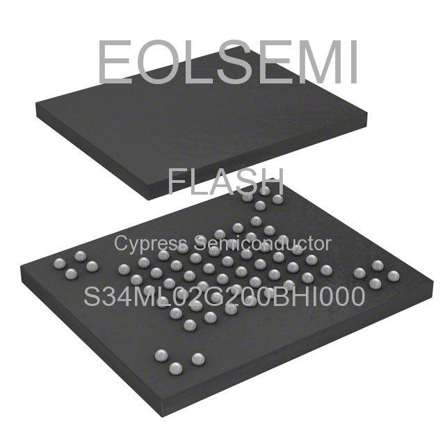 S34ML02G200BHI000 - Cypress Semiconductor