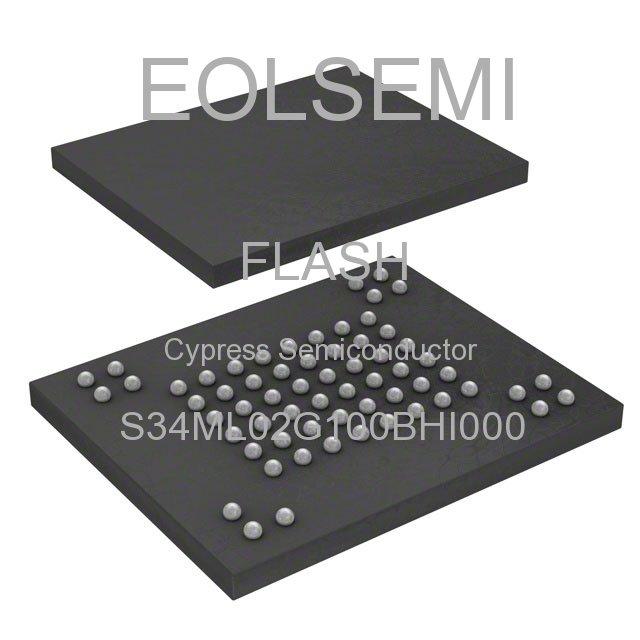 S34ML02G100BHI000 - Cypress Semiconductor