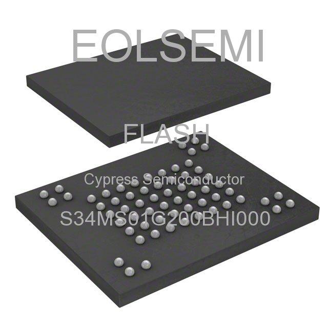 S34MS01G200BHI000 - Cypress Semiconductor