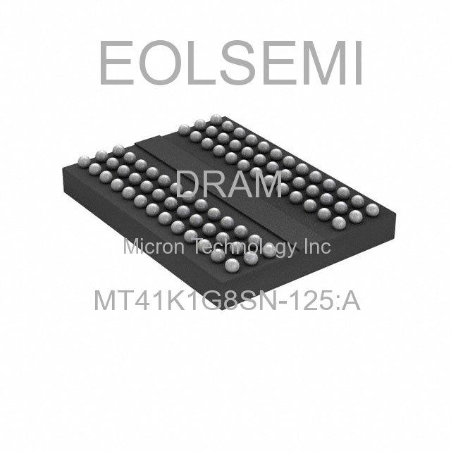 MT41K1G8SN-125:A - Micron Technology Inc