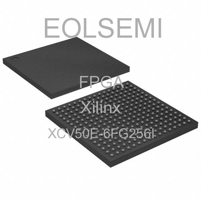 XCV50E-6FG256I - Xilinx