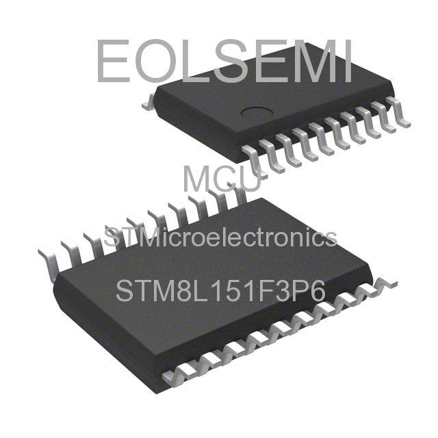 STM8L151F3P6 - STMicroelectronics