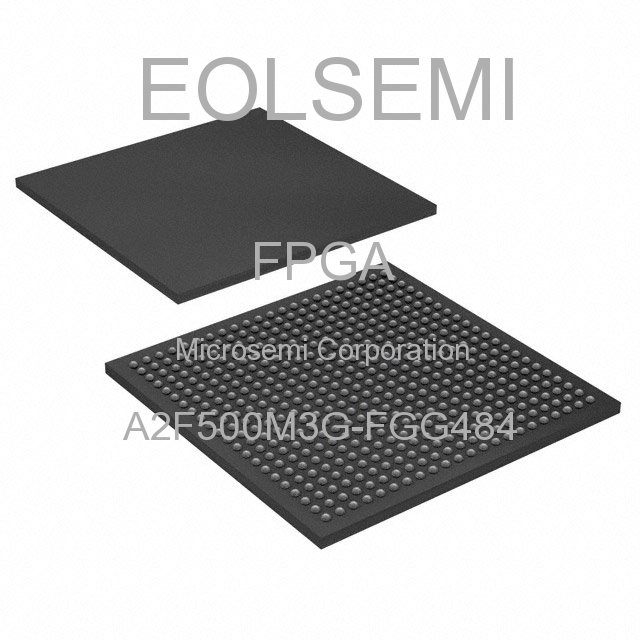 A2F500M3G-FGG484 - Microsemi Corporation