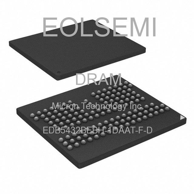 EDB5432BEBH-1DAAT-F-D - Micron Technology Inc.