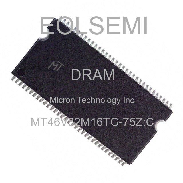 MT46V32M16TG-75Z:C - Micron Technology Inc