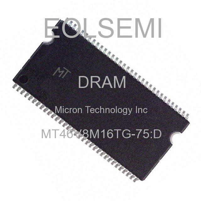 MT46V8M16TG-75:D - Micron Technology Inc