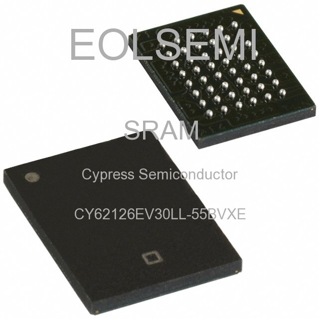 CY62126EV30LL-55BVXE - Cypress Semiconductor