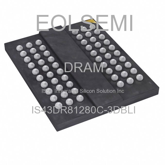IS43DR81280C-3DBLI - ISSI, Integrated Silicon Solution Inc