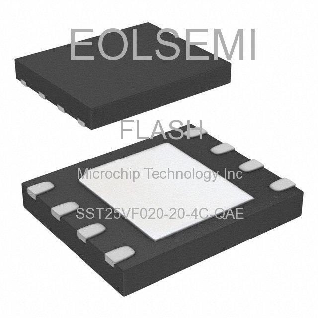 SST25VF020-20-4C-QAE - Microchip Technology Inc
