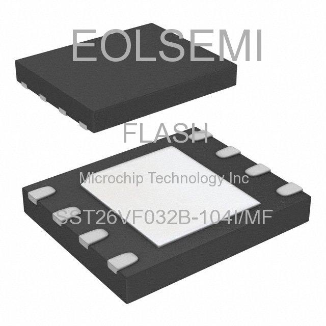 SST26VF032B-104I/MF - Microchip Technology Inc