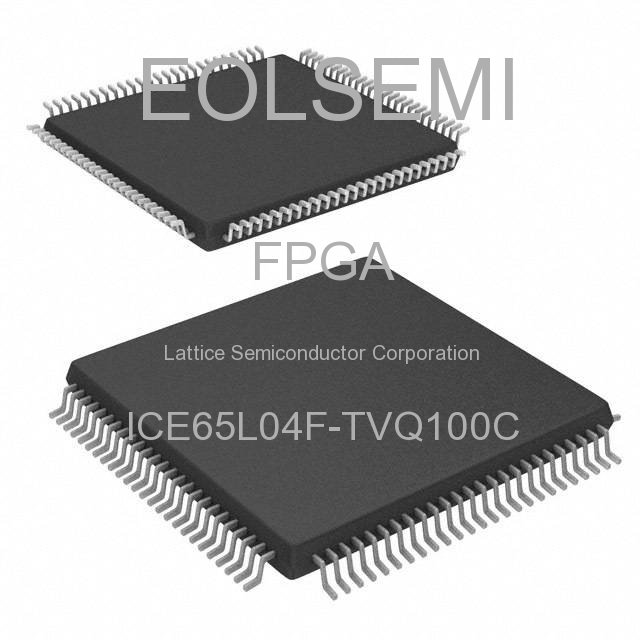 ICE65L04F-TVQ100C - Lattice Semiconductor Corporation