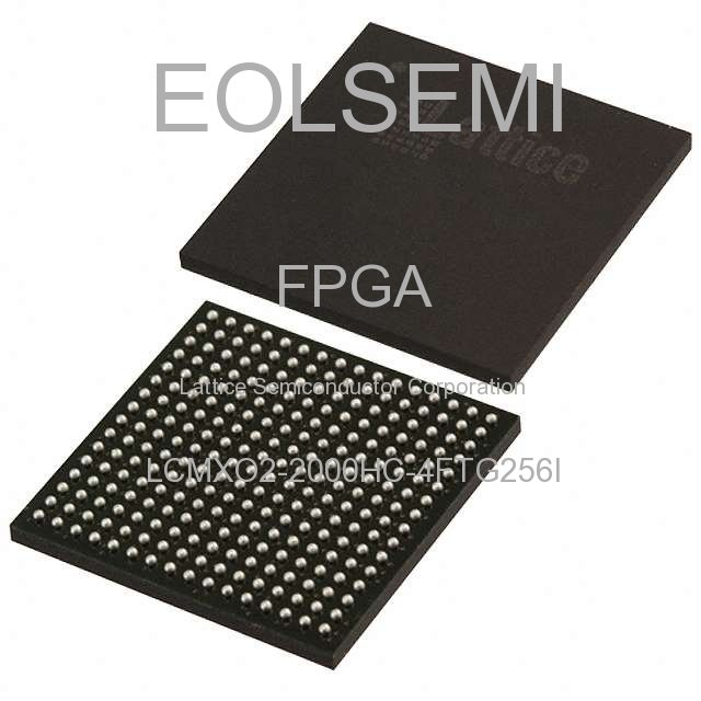 LCMXO2-2000HC-4FTG256I - Lattice Semiconductor Corporation
