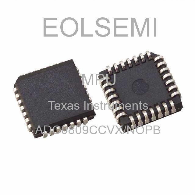 ADC0809CCVX/NOPB - Texas Instruments - MPU