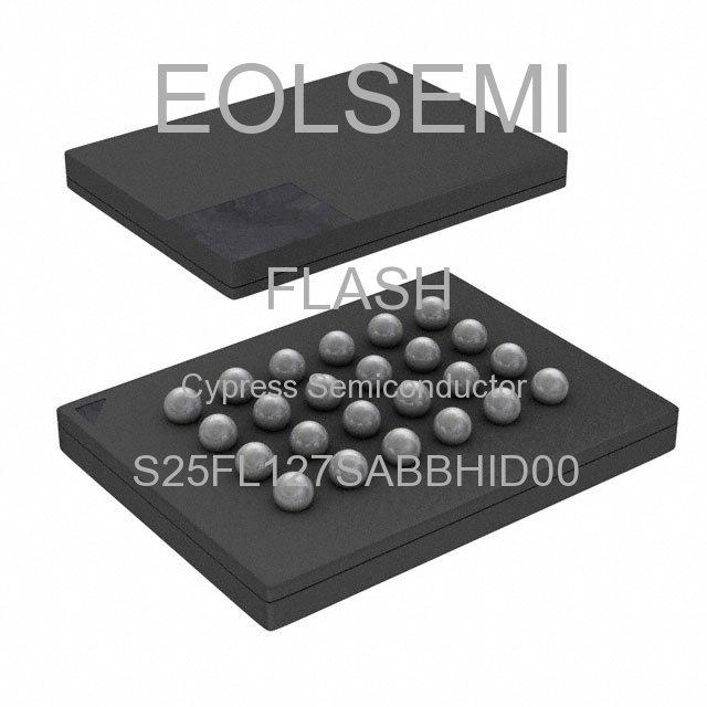 S25FL127SABBHID00 - Cypress Semiconductor