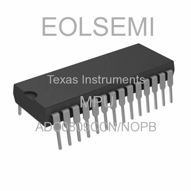ADC0809CCN/NOPB - Texas Instruments - MPU