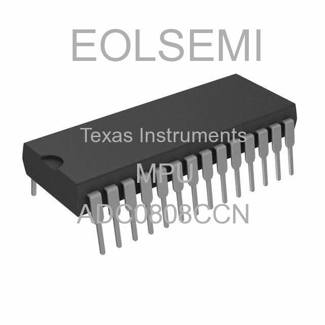 ADC0808CCN - Texas Instruments - MPU