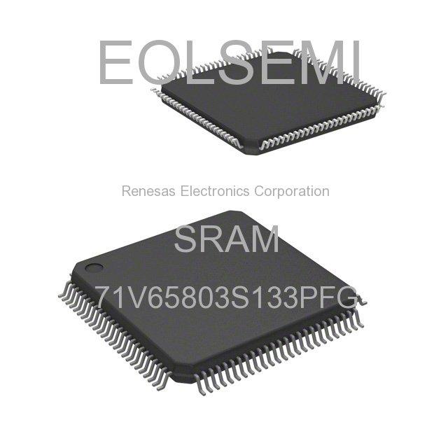 71V65803S133PFG - Renesas Electronics Corporation - SRAM