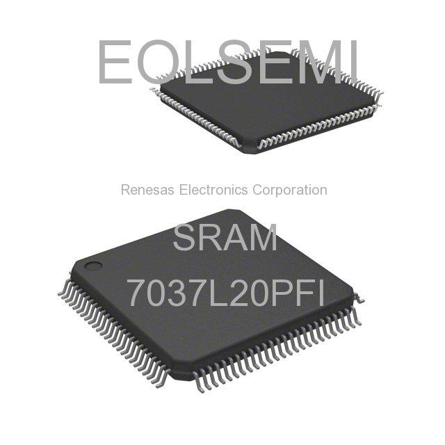 7037L20PFI - Renesas Electronics Corporation - SRAM