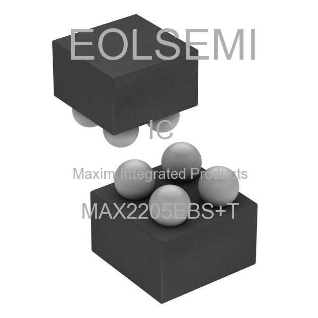 MAX2205EBS+T - Maxim Integrated Products
