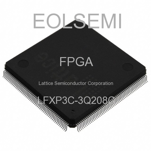 LFXP3C-3Q208C - Lattice Semiconductor Corporation