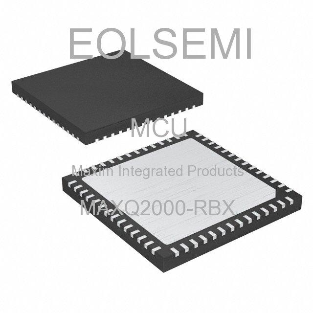 MAXQ2000-RBX - Maxim Integrated Products