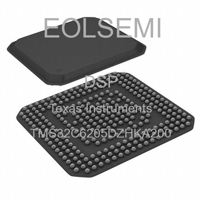 TMS32C6205DZHKA200 - Texas Instruments