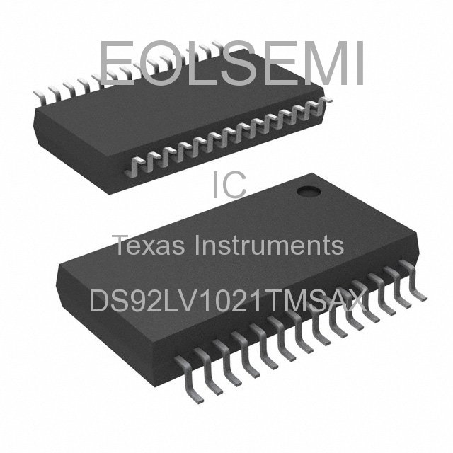 DS92LV1021TMSAX - Texas Instruments