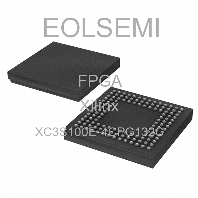 XC3S100E-4CPG132C - Xilinx