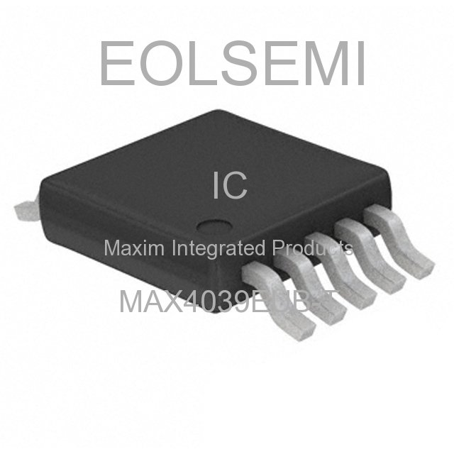 MAX4039EUB-T - Maxim Integrated Products