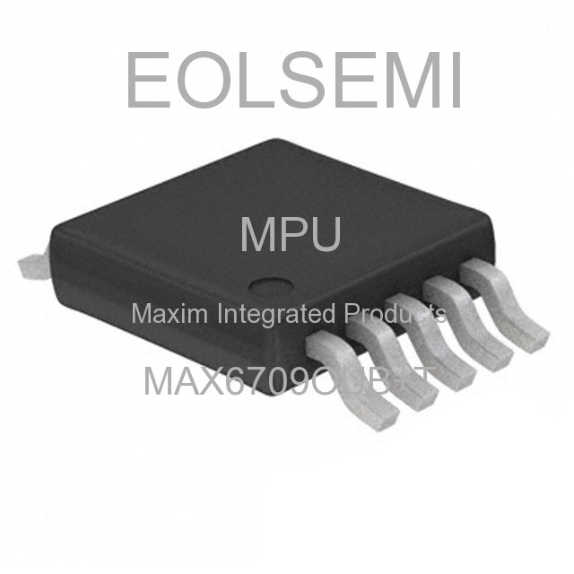 MAX6709OUB+T - Maxim Integrated Products