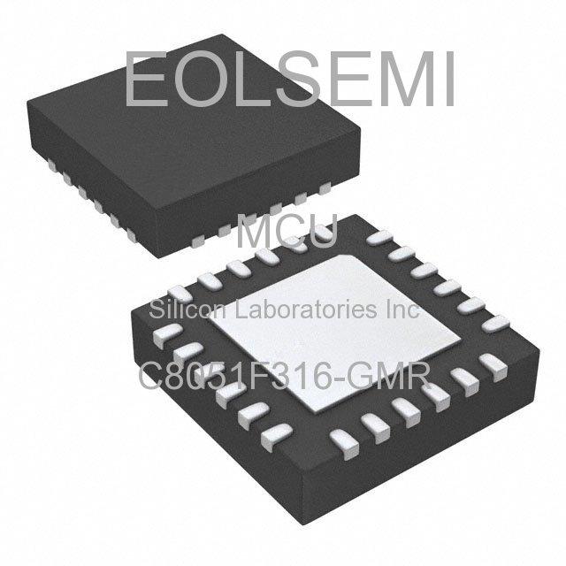 C8051F316-GMR - Silicon Laboratories Inc