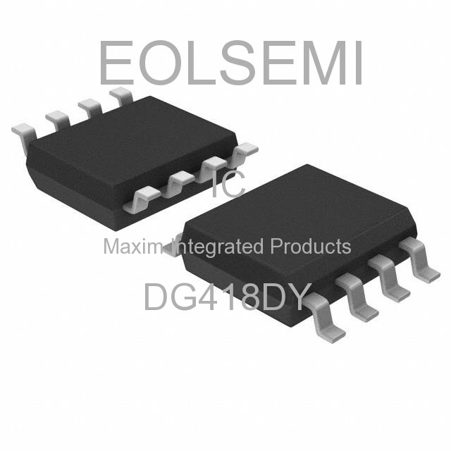 DG418DY - Maxim Integrated Products