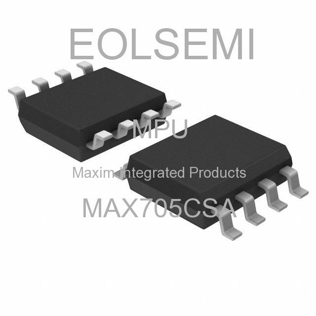 MAX705CSA - Maxim Integrated Products