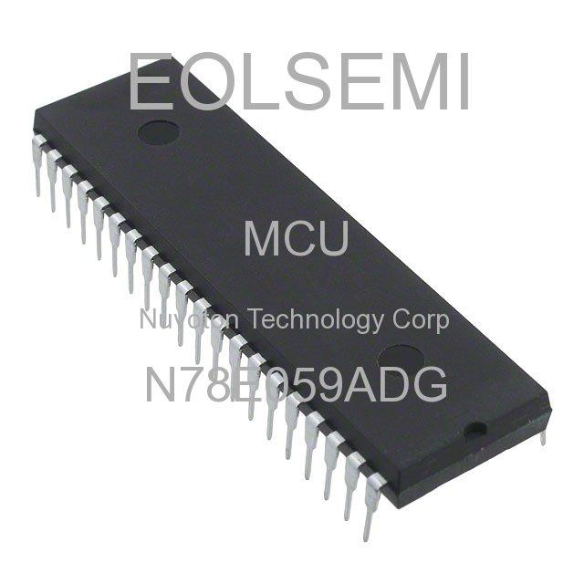 N78E059ADG - Nuvoton Technology Corp