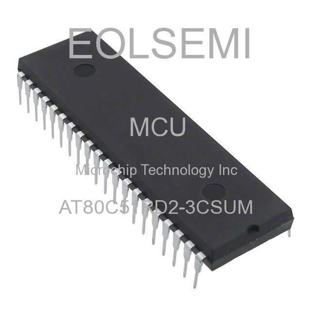 AT80C51RD2-3CSUM - Microchip Technology Inc