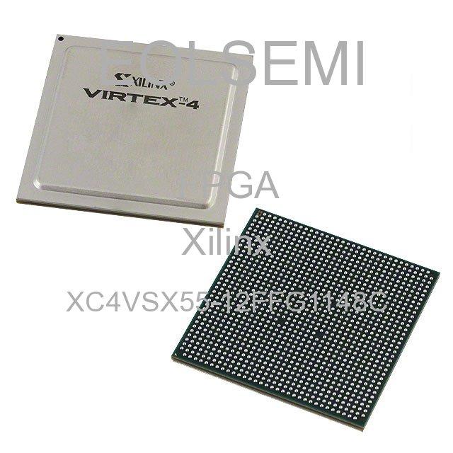 XC4VSX55-12FFG1148C - Xilinx
