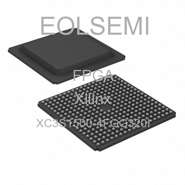 XC3S1500-4FGG320I - Xilinx
