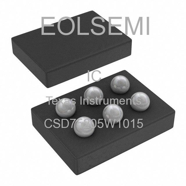 CSD75205W1015 - Texas Instruments